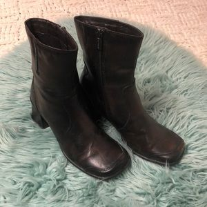 Spring Leather Boots